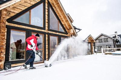 Снегоуборщики: основные виды