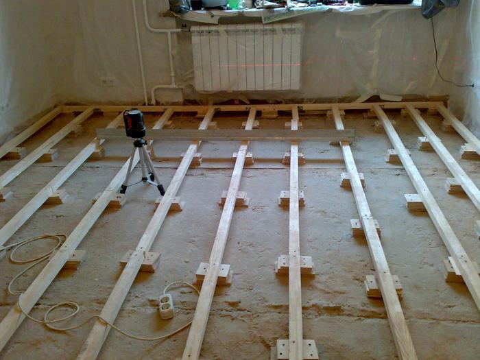 Как выровнять старый деревянный пол?