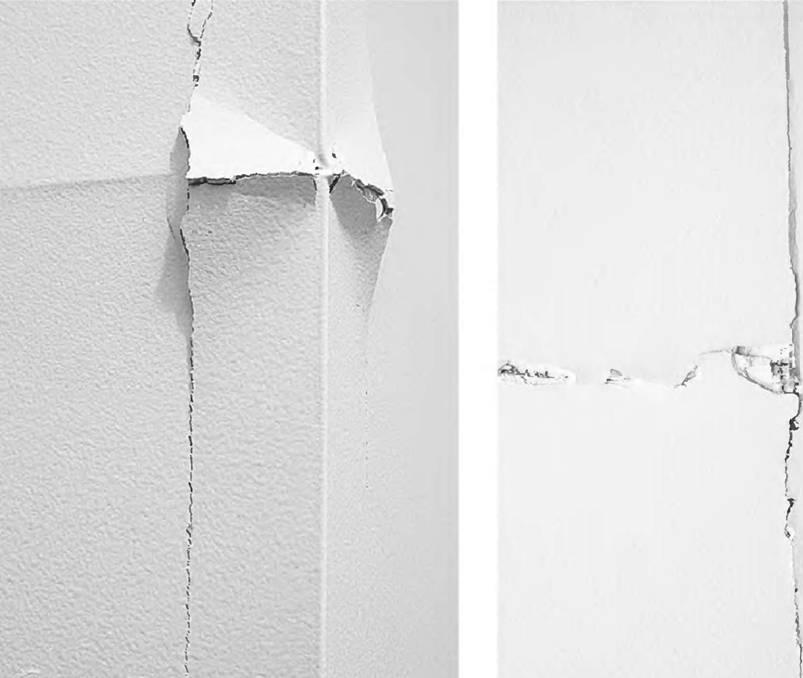 Как отремонтировать трещину в стене или на потолке?