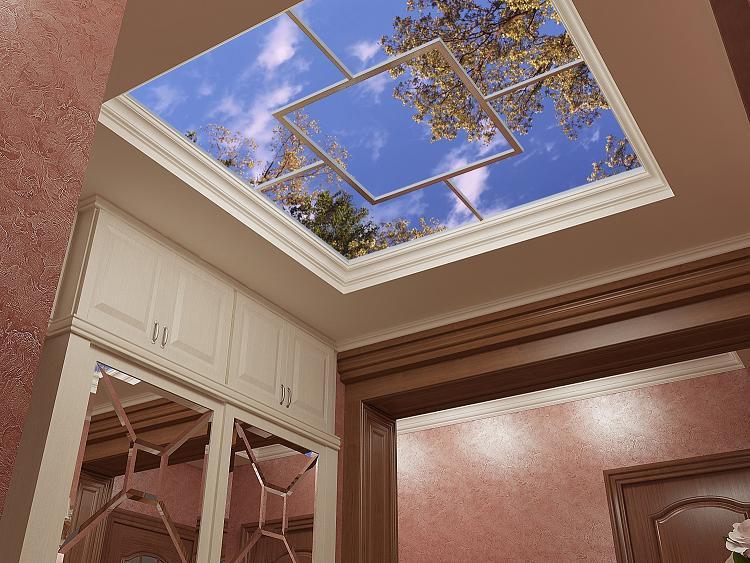 Потолки 3D: характеристики и возможности