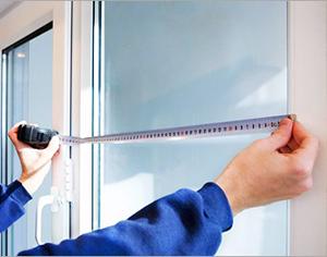 Как сделать замер пластикового окна своими руками?