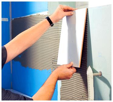 Какой зазор между плитками при укладке кафеля: на стену, на пол