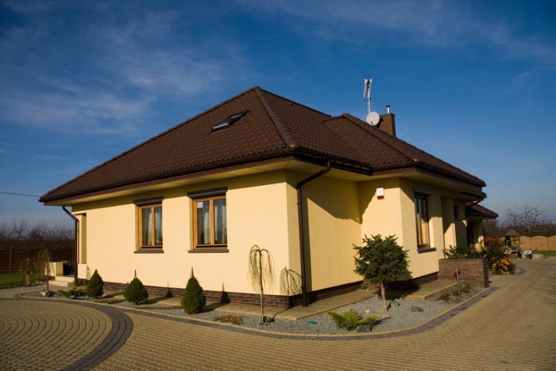 Строительство одноэтажного дома из газобетона - преимущества