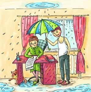Течет крыша: основные причины и способы устранения