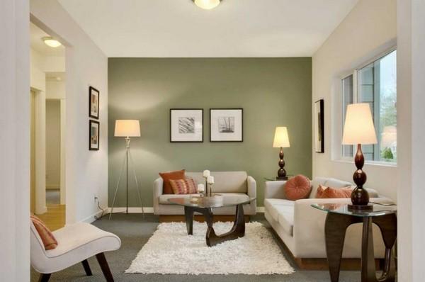 Акцентная стена в интерьере: цвет и особенности