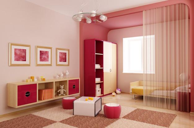 Зонирование детской комнаты: все, что необходимо знать