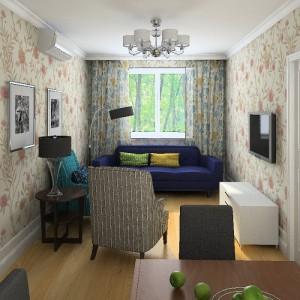 Как компенсировать недостатки комнаты обоями?