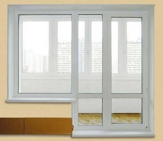 Как поменять балконную дверь - этапы монтажа