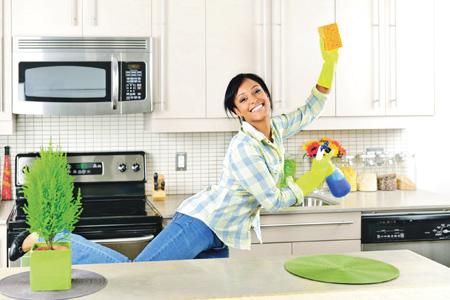 Быстрая уборка в квартире: секреты системы флай-леди