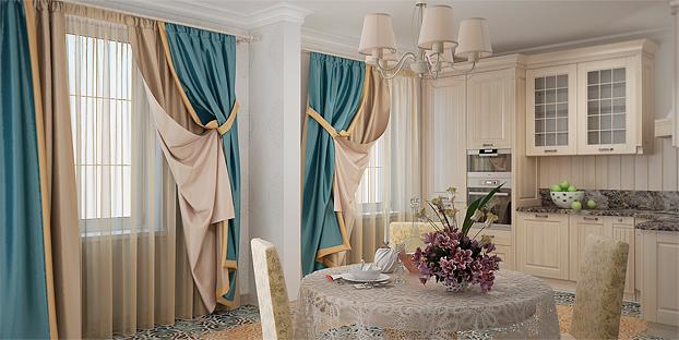 Модные шторы 2015: цвет, ткань, модель