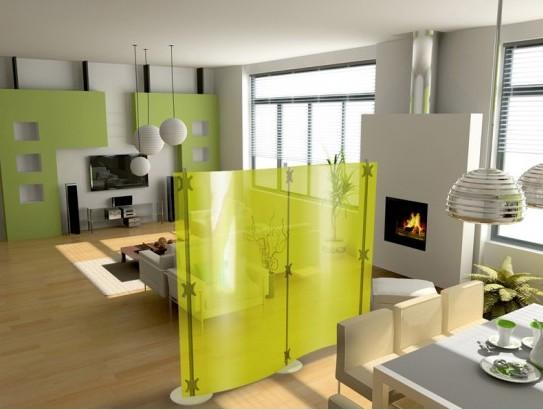 Как зонировать однокомнатную квартиру при помощи мебели