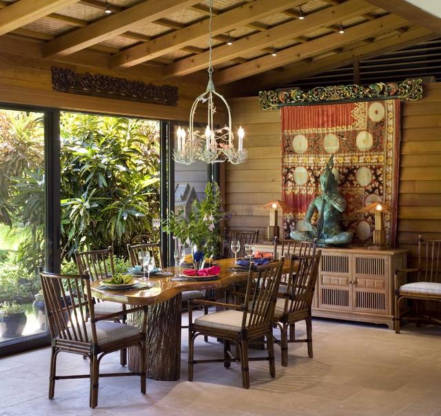 7 вариантов оформления столовой комнаты