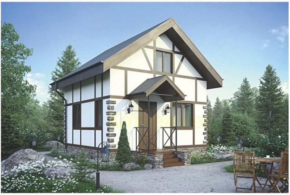 ТОП-10 проектов домов площадью до 100 м2 из СИП панелей