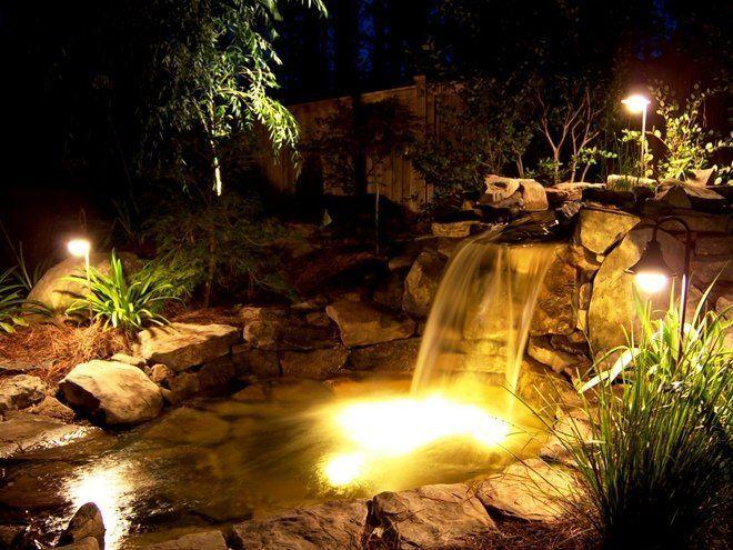 Подсветка для пруда – 5 советов по организации