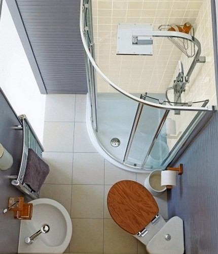 Потолок в ванную: классификация по дизайну